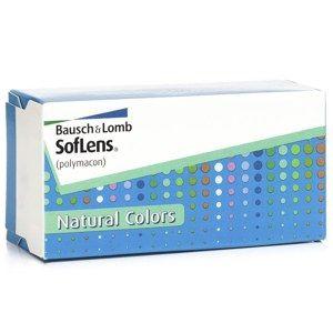 SofLens Natural Colors (2 šošovky) - nedioptrické Soflens Štvrťročné farebné sférické