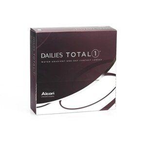 Dailies Total 1 (90 šošoviek) Dailies Jednodenné silikón-hydrogélové sférické Športové