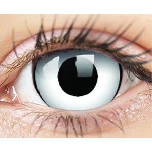 ColourVUE Crazy Lens (2 šošovky) dioptrické - White Zombie ColourVUE Štvrťročné farebné sférické